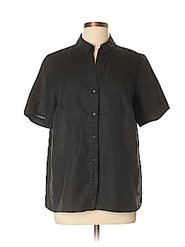 Marina Rinaldi Short Sleeve Button-Down Shirt Size 12 (21)