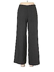 Armani Collezioni Women Wool Pants Size 46 (IT)