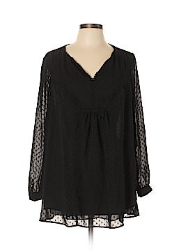 Daniel Rainn Long Sleeve Blouse Size 1X (Plus)