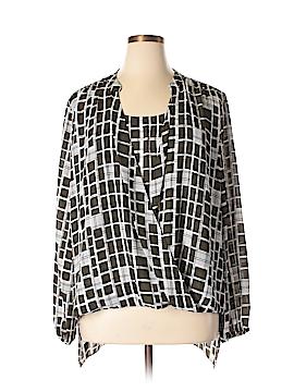 Alfani Long Sleeve Blouse Size 22 (Plus)