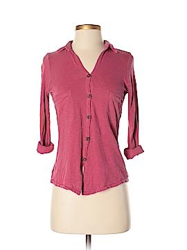 ALTERNATIVE 3/4 Sleeve Button-Down Shirt Size XS