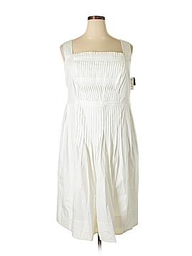 Liz Claiborne Casual Dress Size 24 (Plus)
