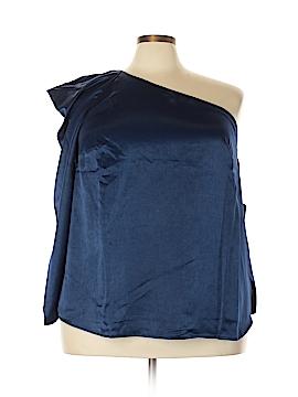 ELOQUII 3/4 Sleeve Blouse Size 22 (Plus)