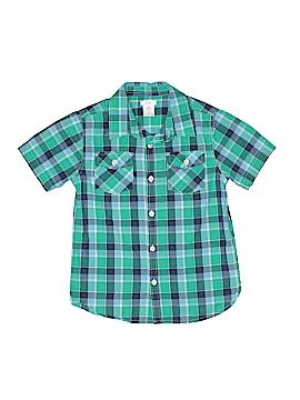 Joe Fresh Short Sleeve Button-Down Shirt Size 8