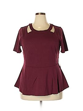 Eloquii Short Sleeve Top Size 20 (Plus)