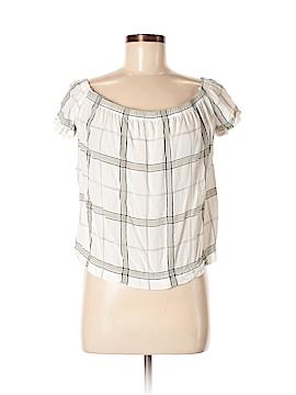 Bella Dahl Short Sleeve Blouse Size M
