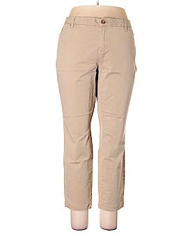 Faded Glory Khakis Size 18 (Plus)