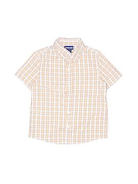 Cherokee Short Sleeve Button-Down Shirt Size 4T
