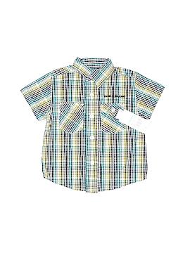 CALVIN KLEIN JEANS Short Sleeve Button-Down Shirt Size 6-9 mo