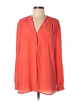 Victoria's Secret Long Sleeve Silk Top Size XL