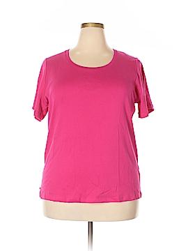 Jones New York Signature Short Sleeve T-Shirt Size 2X (Plus)