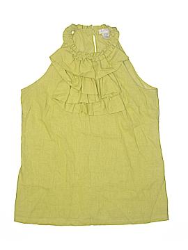 Tweeds Sleeveless Blouse Size L