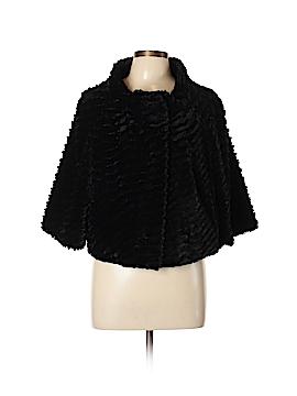 INC International Concepts Faux Fur Jacket Size L (Petite)