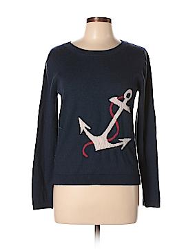 Garnet Hill Wool Pullover Sweater Size L