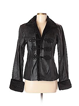 Newport News Leather Jacket Size 8
