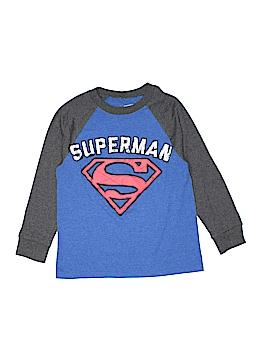Superman Long Sleeve T-Shirt Size 8