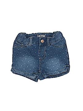 Cat & Jack Denim Shorts Size 12 mo