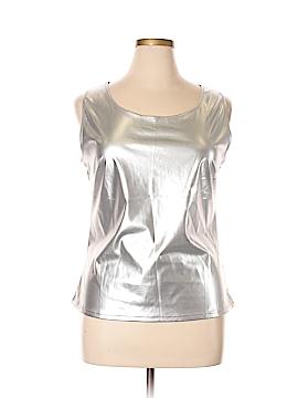 Allegra K Sleeveless Blouse Size XL
