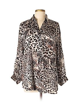 Violet & Claire Long Sleeve Blouse Size XL