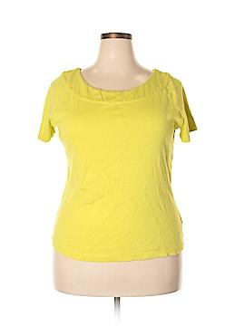 Rafaella Studio Short Sleeve T-Shirt Size 1X (Plus)