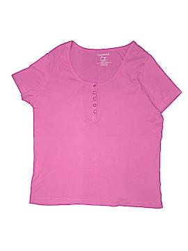 Essentials Short Sleeve Henley Size 18/20 (Plus)