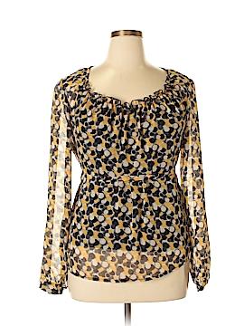 AB Studio Long Sleeve Blouse Size XL