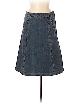 Garnet Hill Denim Skirt Size 8