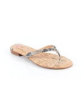 Elaine Turner Flip Flops Size 8 1/2