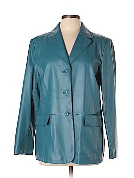 Pendleton Leather Jacket Size L
