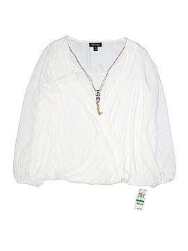 Thalia Sodi Long Sleeve Blouse Size L