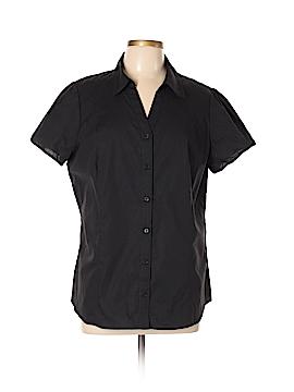 St. John's Bay Short Sleeve Button-Down Shirt Size XL