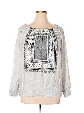 Ashley Stewart Long Sleeve Blouse Size 14