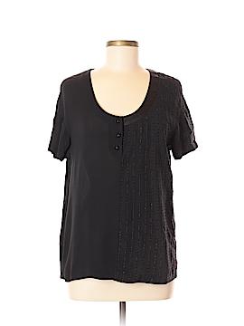 Alexander Wang Short Sleeve Silk Top Size 8