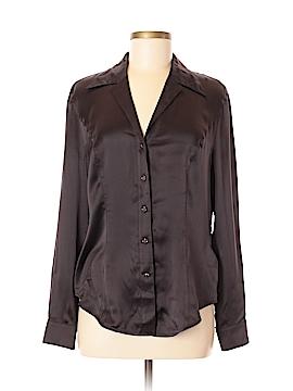 Escada Long Sleeve Silk Top Size 38 (EU)