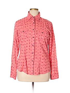Rockies Long Sleeve Button-Down Shirt Size XL