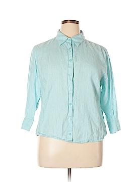L.L.Bean Long Sleeve Button-Down Shirt Size XL (Petite)