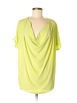 Adrienne Short Sleeve Blouse Size M