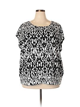 Cathy Daniels Short Sleeve Top Size 3X (Plus)