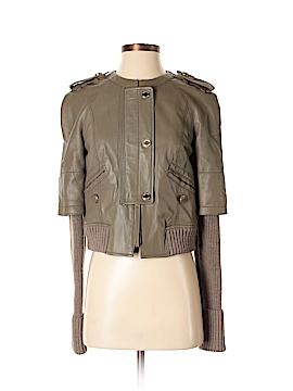 Tory Burch Leather Jacket Size XS