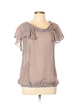 Céline Short Sleeve Blouse Size L