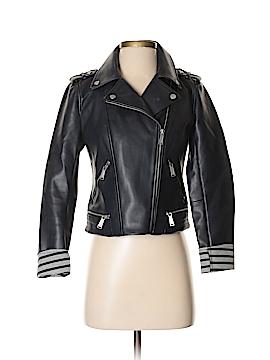 BCBGeneration Faux Leather Jacket Size XS