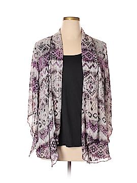 Sara Michelle Long Sleeve Blouse Size 1X (Plus)