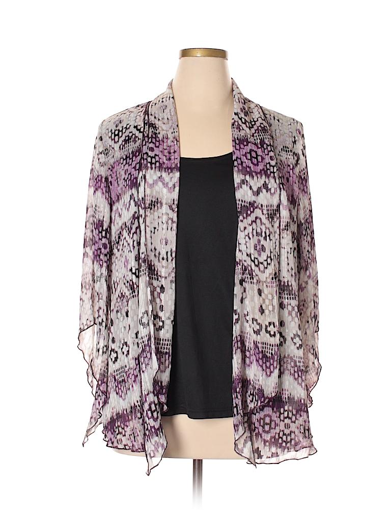 Sara Michelle Women Long Sleeve Blouse Size 1X (Plus)