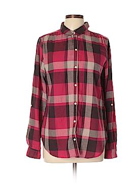 Isabella Sinclair Long Sleeve Button-Down Shirt Size L