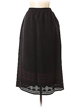 Susan Graver Casual Skirt Size L