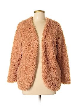 Ellison Faux Fur Jacket Size M