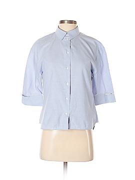 Zara 3/4 Sleeve Button-Down Shirt Size S