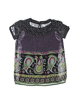 Xhilaration Short Sleeve Blouse Size L (Youth)