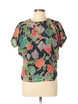 Worthington Short Sleeve Blouse Size 6 (Petite)