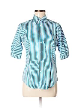 Ralph Lauren Sport 3/4 Sleeve Button-Down Shirt Size 8